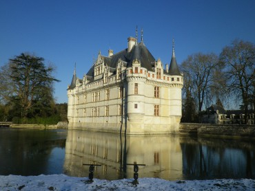 Chateau of Azay le Rideau - Loire Valley - France