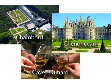PACK Chambord - Chenonceau - Caves Duhard