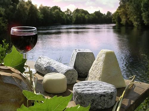 Loire Valley cheese and wine