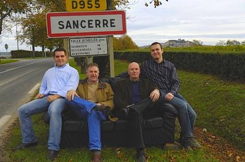 Our Sancerre wine markers partners, Fouassier family