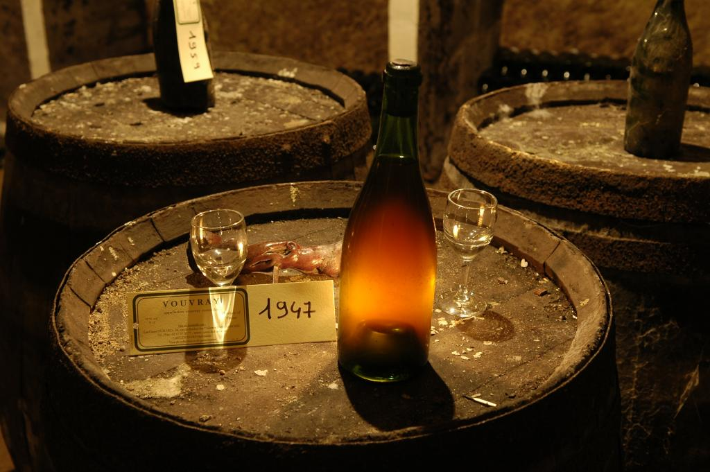 Vouvray cave in the Loire Valley